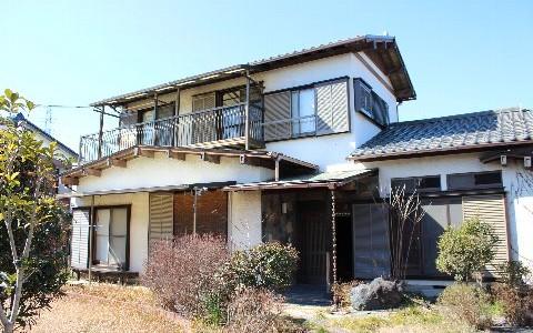 川島町の二階建て建物の解体費用