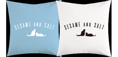 sesame and salt トートバッグのサンプル