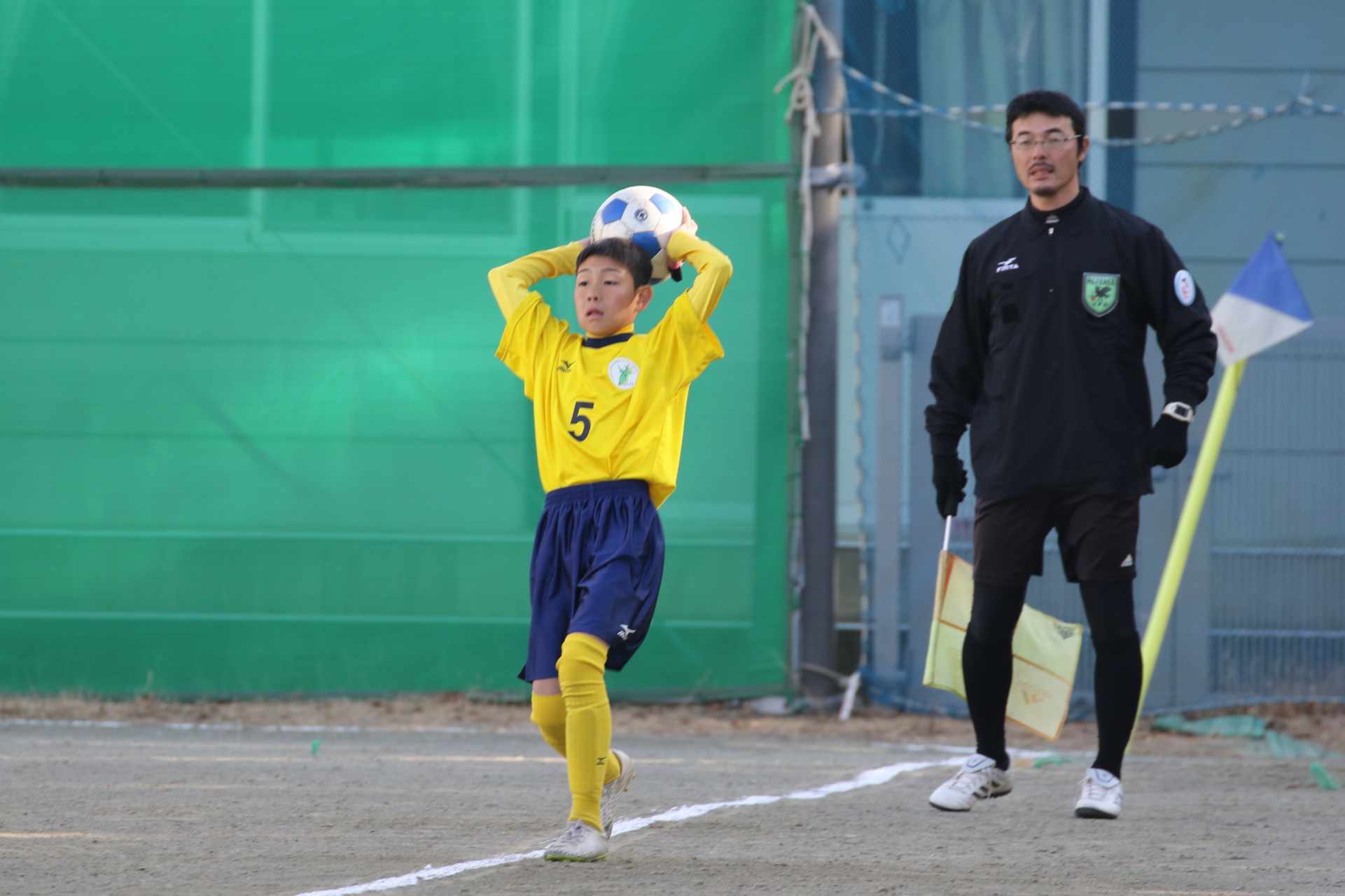 2019.1.6 U13選手権@緑町中学校