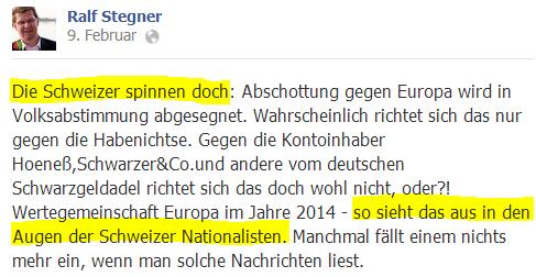 In der deutschen SPD gibt es immer mehr Genossen mit antidemokratischer und imperialistischer Rethorik