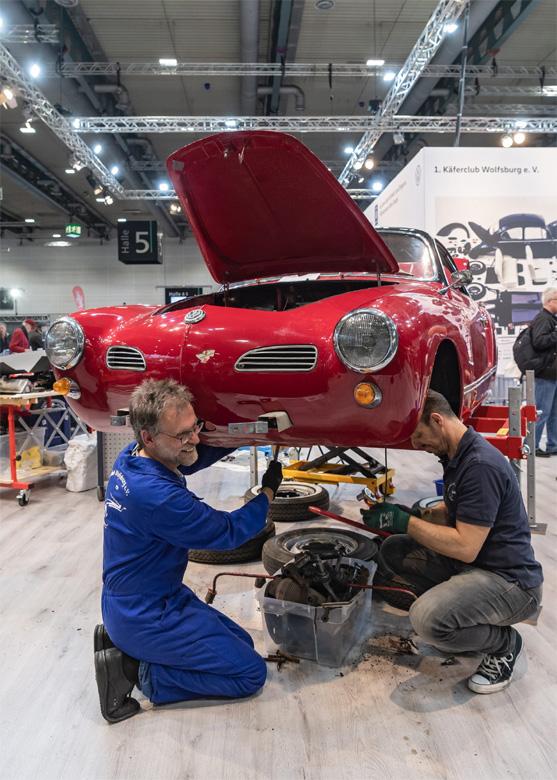Bild 1 (M3B GmbH/Jan Rathke): Die Bremen Classic Motorshow startet am Samstag, 6. Februar 2021, online und präsentiert von 15 bis 20 Uhr ein abwechslungsreiches Programm. Dazu gehören unter anderem Fachvorträge und Workshops.