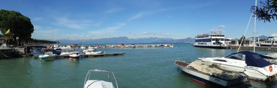 Tour  4 Bild 16 Gardasee bei Peschiera