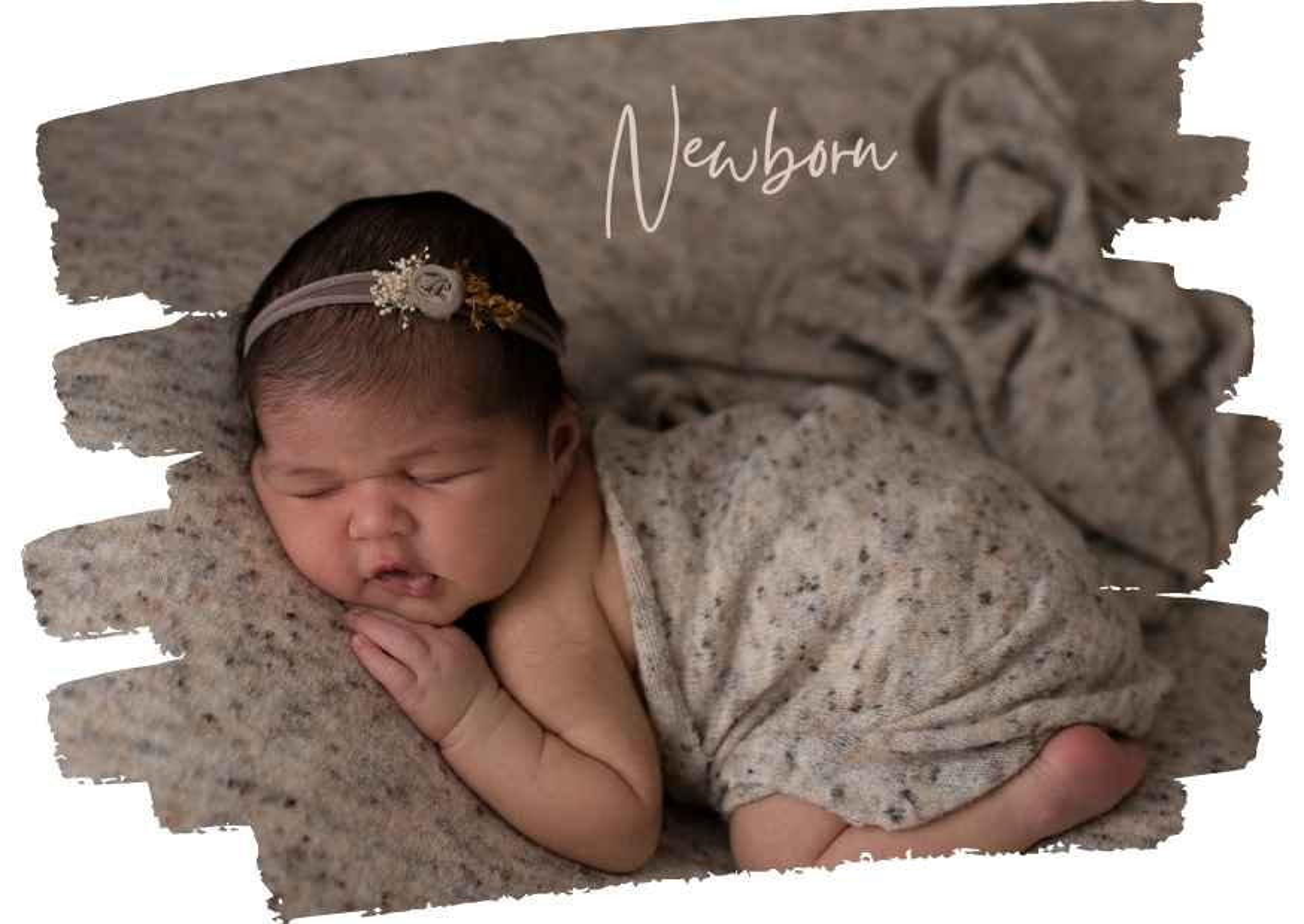 Neugeborenenshooting eines 20 Tage alten Babys, Baby schläft