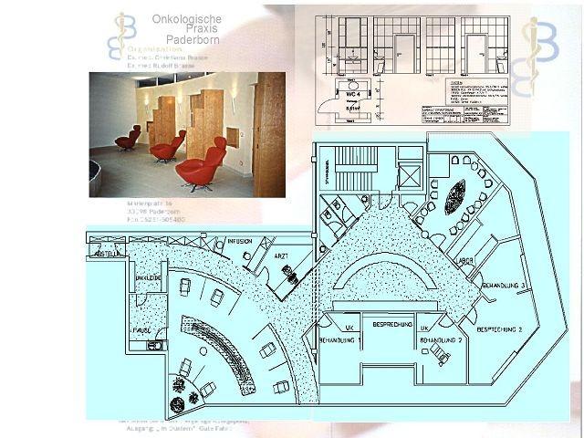 gynäkologiesche/onkologische praxis paderborn innenstadt,Bild:2:Grundriss ,Onkologie,bockhaus-odenthal architekten münster,architektur,immobilien,design