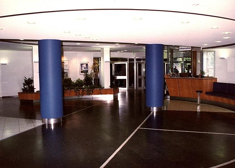 stadtwerke münster foyer,bild1 foyer haupthaus münster