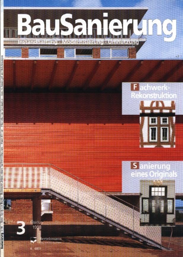 Bilderreihe: Bild1 : Artikel aus der Bausanierung, Sanierung eines Originals, Haus Elmar Münster