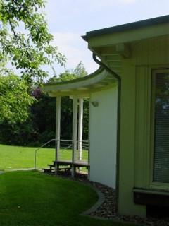 Bild2: Besprechungspavillon für eine Werbeagentur Gartenpavillon KonferenzpavillonBesprechungspavillonMaleratelierKünstleratelierTeepavillonRelaxen