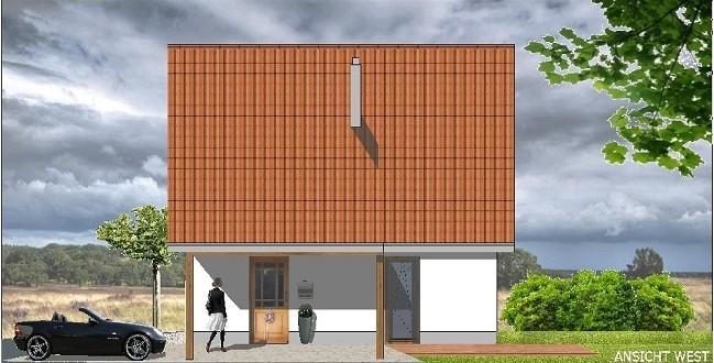 Bild1: Eingangsansicht, Bockhaus-Odenthal Architekten münster, Architektur, Immobilien, Design,Seegrundstück