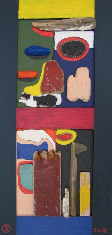 Bretagne 2008, Collage 3, 2008, 34x72cm