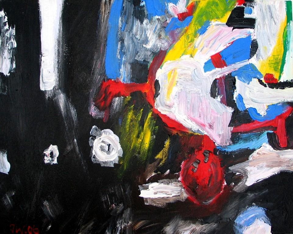 Freier Fall, 2006, 40x50cm