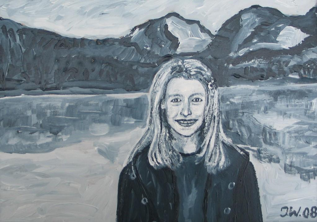 Jana, 2008, 12x18cm