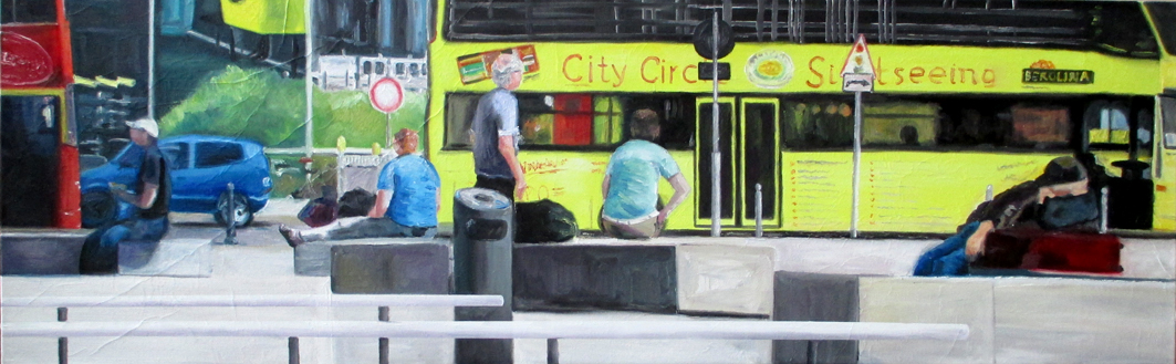 City Sightseeing  50 x 160 cm