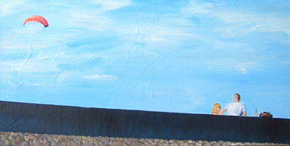 Summersky   50 x 100 cm   20.06.2012