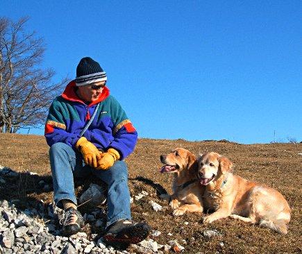 Erinnerungen an den Winter 2006 ... heute machen wir die gleichen Spaziergänge ... mit andern Hunden