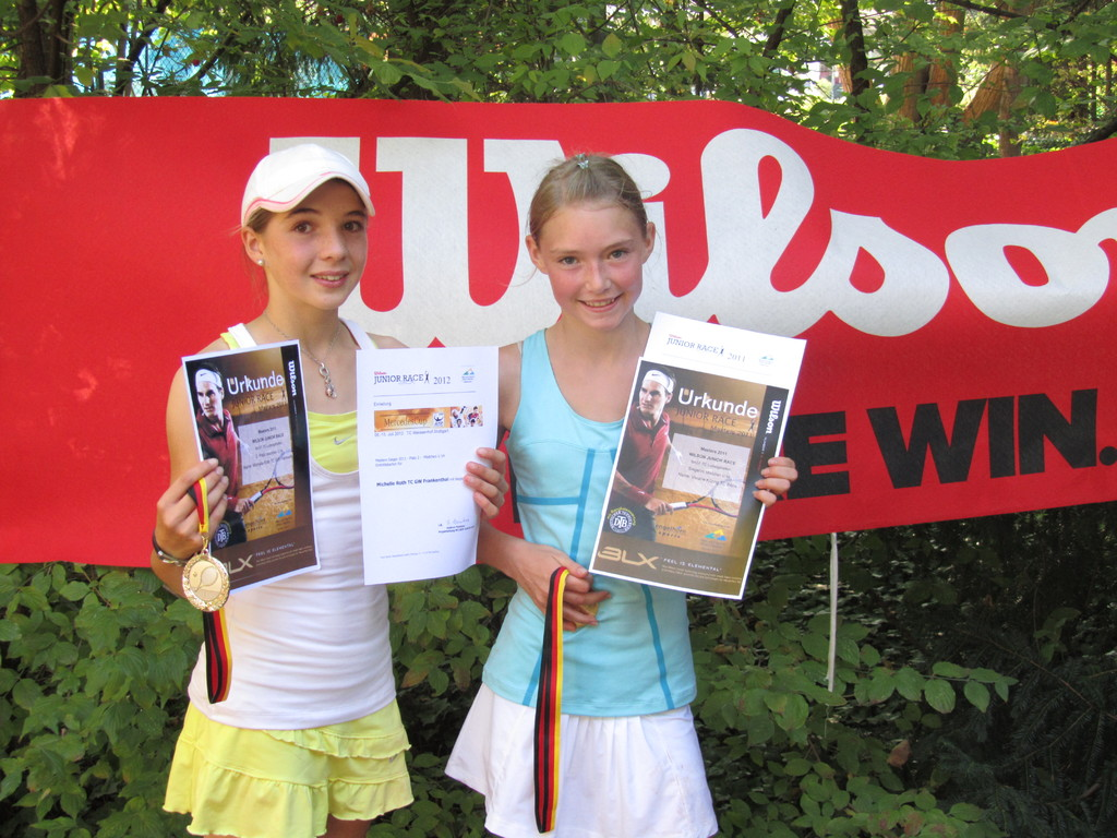Siegerin U 14: Viviane Kitzing - Finalistin Mechelle Roth