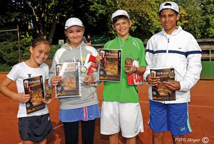 Masters Sieger 2010 / Aurica  Distl,  BASF/ Celin Fritz, Ludwigsburg/ Marvin Blessing, Heitersheim,/ Karim Ismail, Schwetzingen