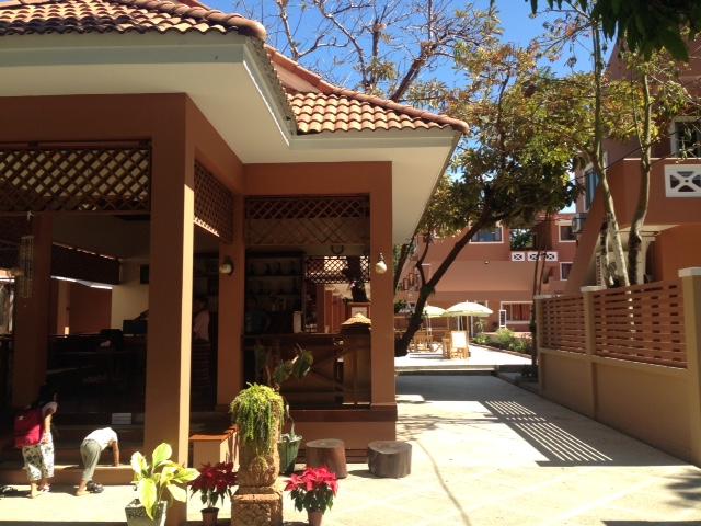 ガパリでの宿泊ホテルの一例