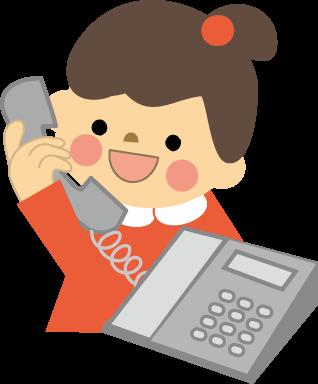 仕事内容に電話対応あるじゃん⤵⤵