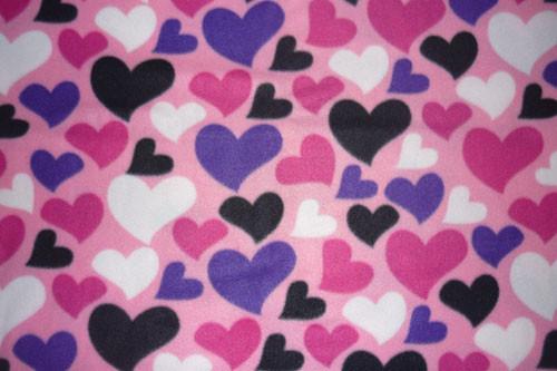 Сердечки разноцветные - 1 с хвостиком