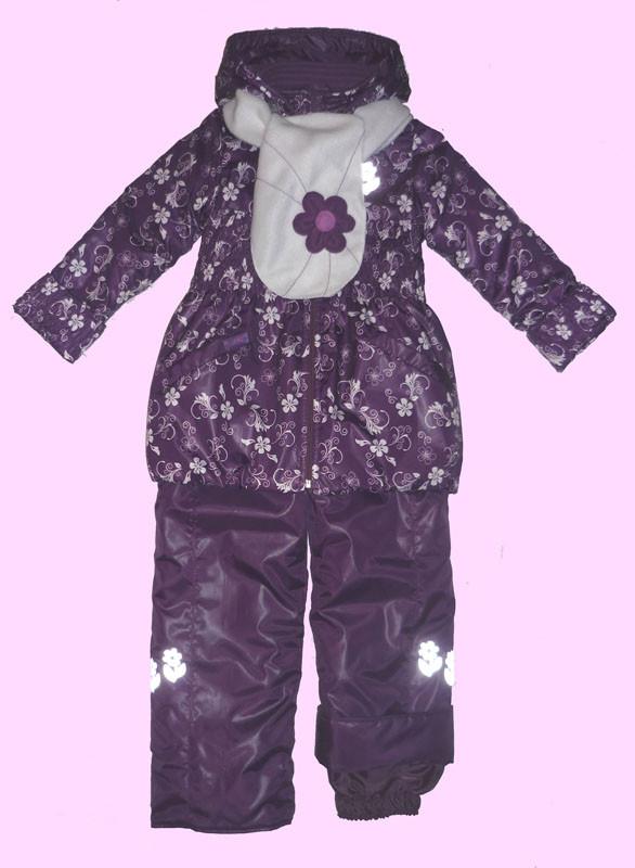куртка и полукомбинезон для девочки