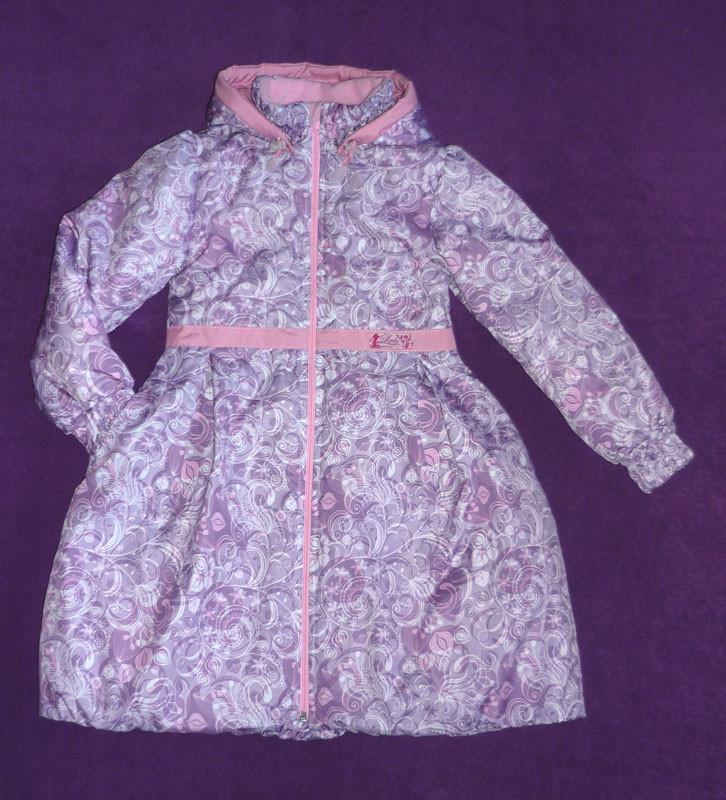 Утепленное пальто для девочки