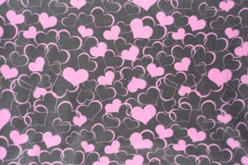 Сердечки розовые - 1,3 БРОНЬ