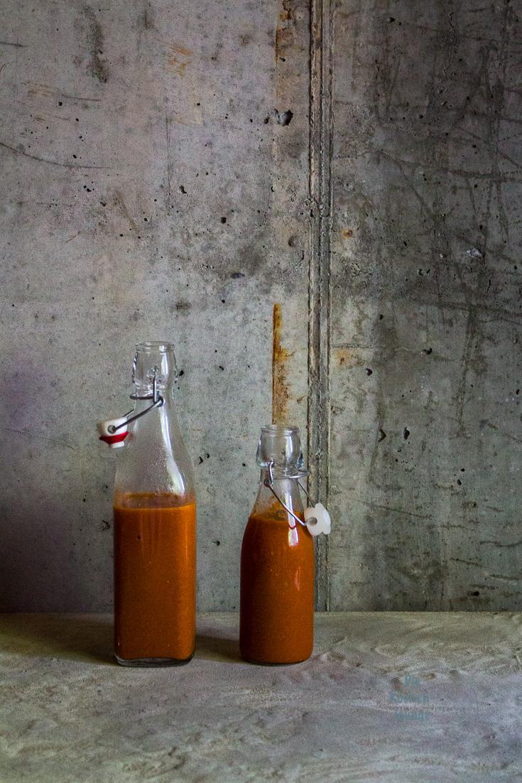 Ketchup mit Rhabarber