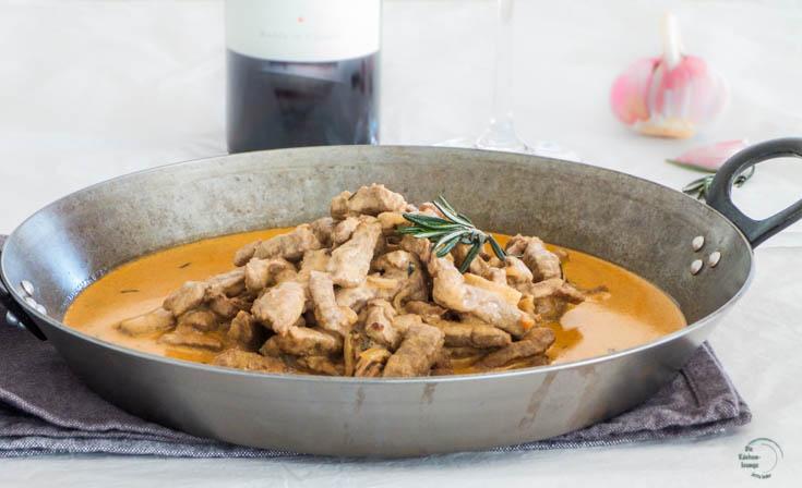 Rindfleisch in frischer Kurkuma Pesto