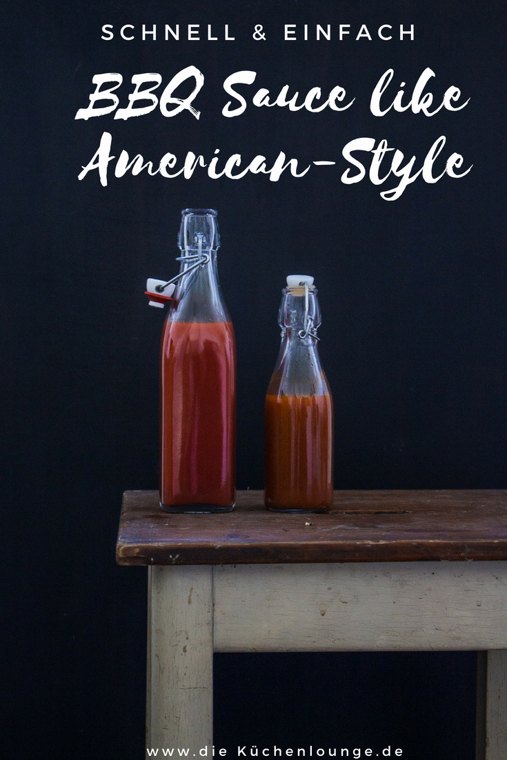 BBQ Sauce like American-Style