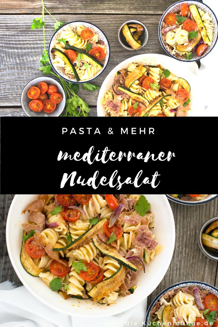 Pasta & mehr, mediterraner Nudelsalat