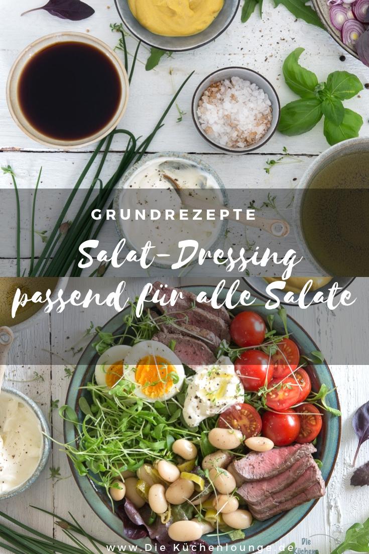 Salat-Dressing - passend für alle Salate