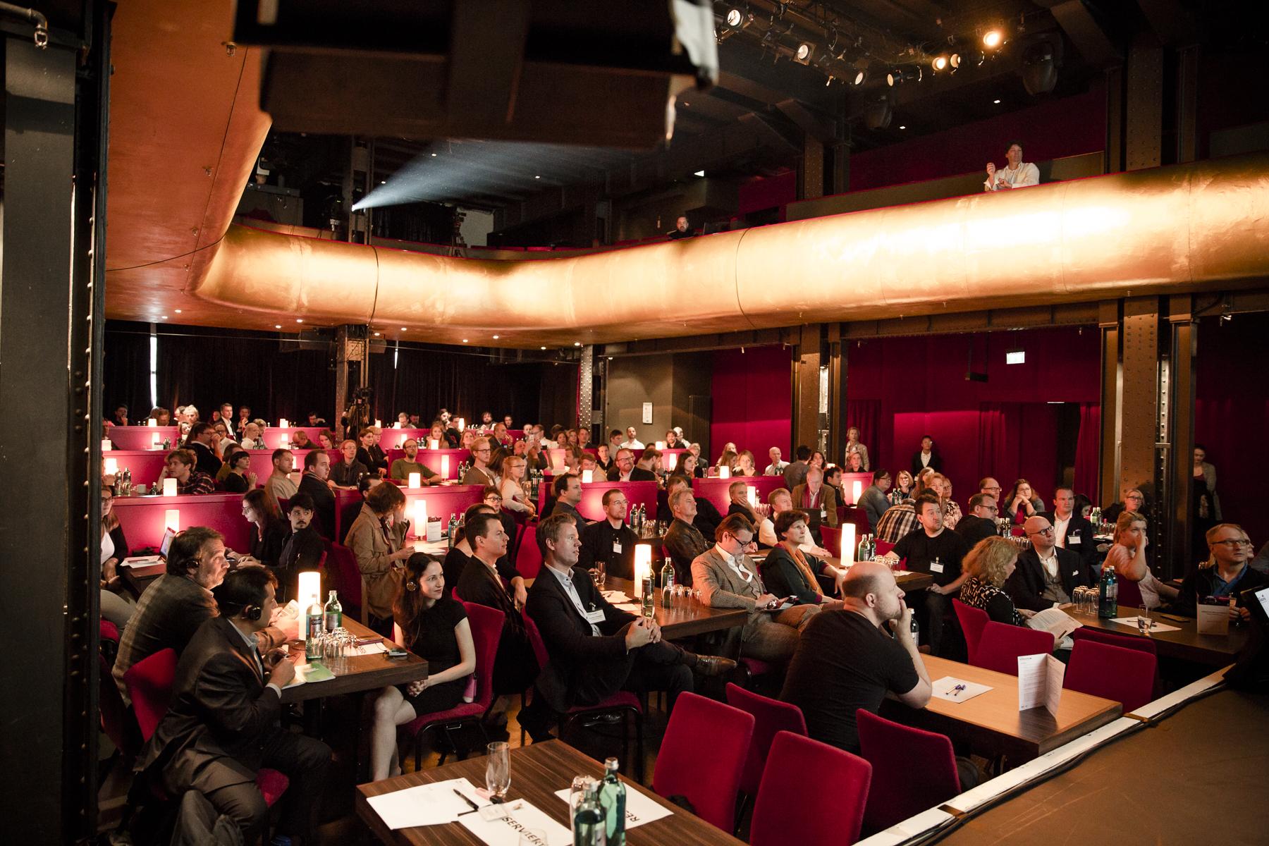 Publikum im Theater Kehrwieder