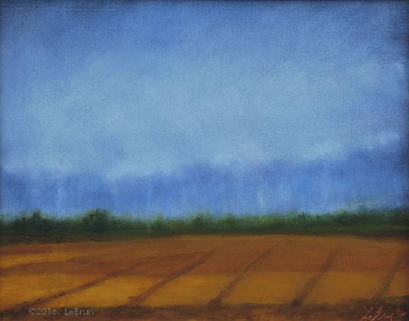 """Oils on Linen Panel (16"""" x 20"""")"""