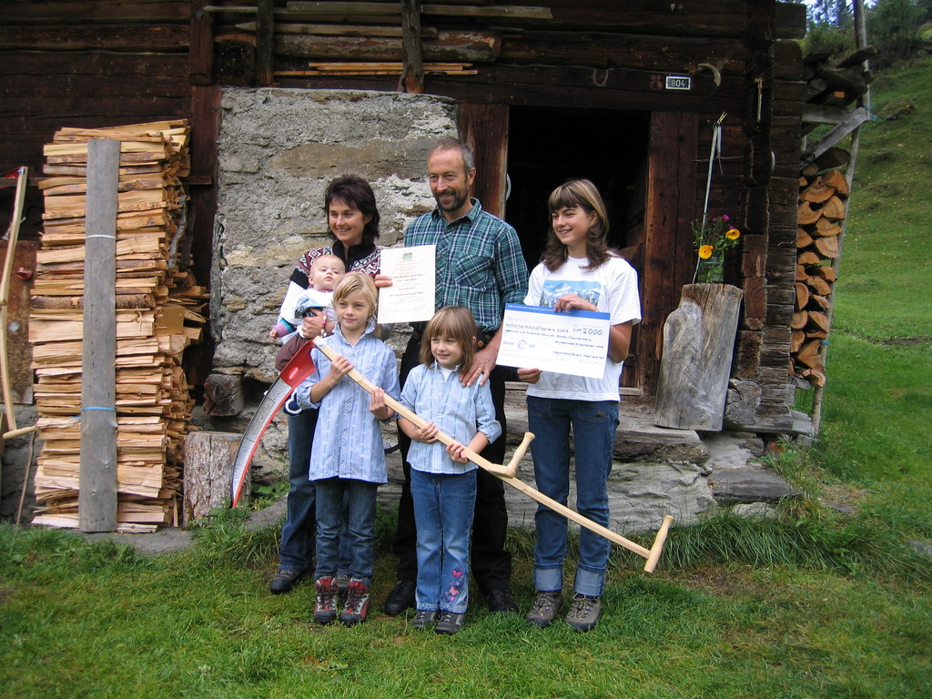 Familie Feuz, Alp Stufenstein