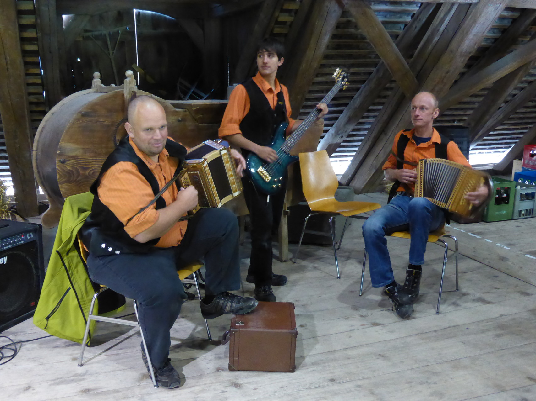 Musikalische Unterhaltung mit den Harzer Buebe