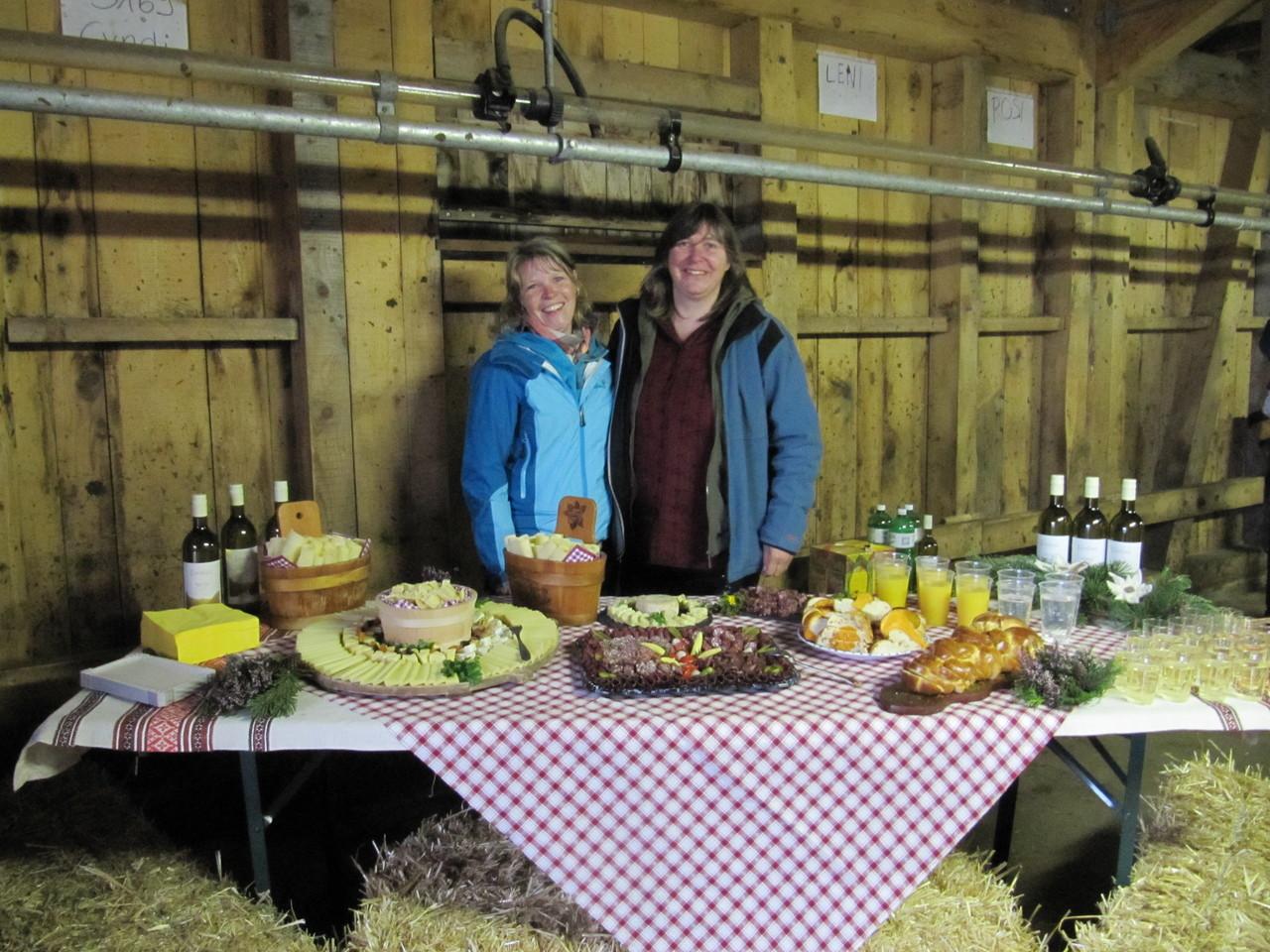 Märtfrauen Grindelwald: v.li. Monika Aeschlimann und Silvia Wahli