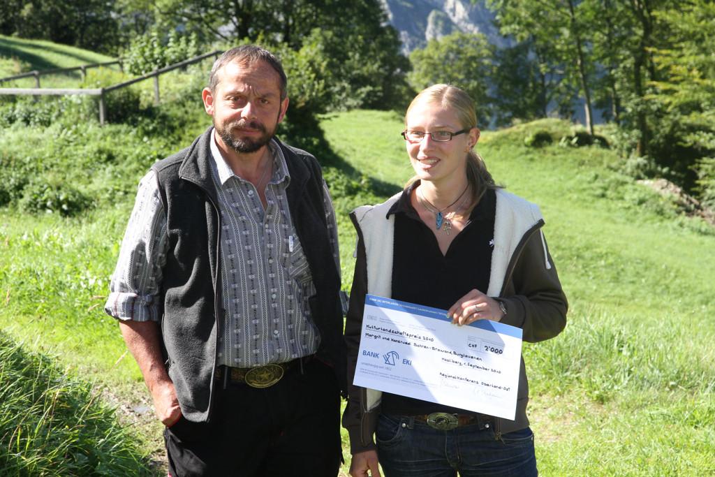Margrit und Hansruedi Bohren-Brawand (Foto: jungfrauzeitung.ch/Irene Thali)