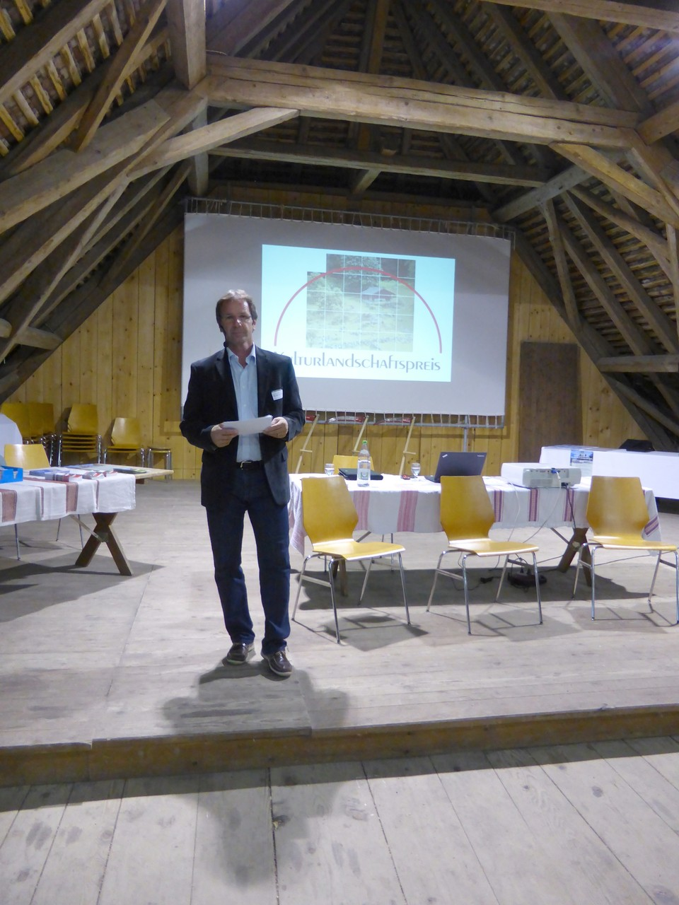 Jubiläumsansprache durch Peter Flück, Präsident der Regionalkonferenz Oberland-Ost