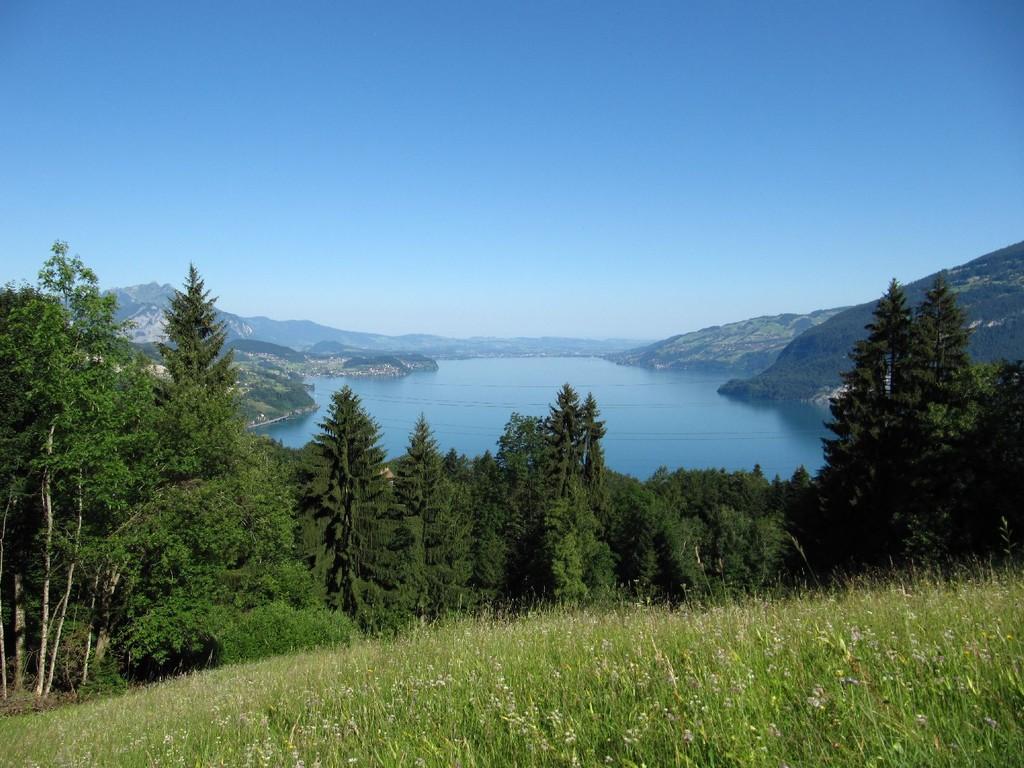 Ausblick über den Thunersee