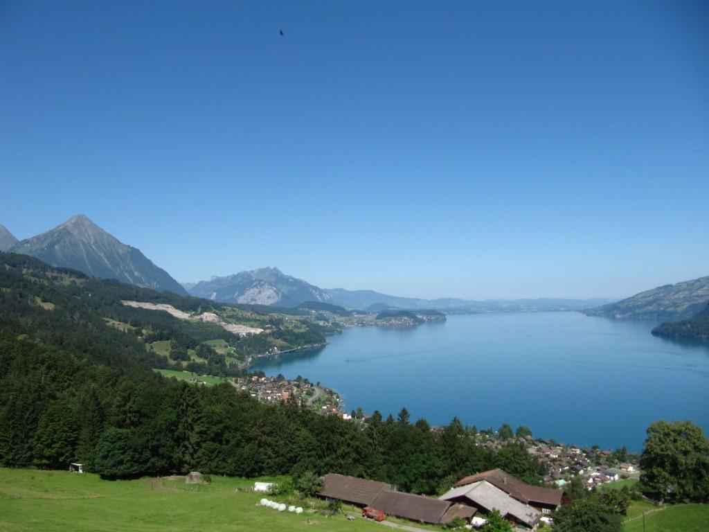 Blick über den Thunersee