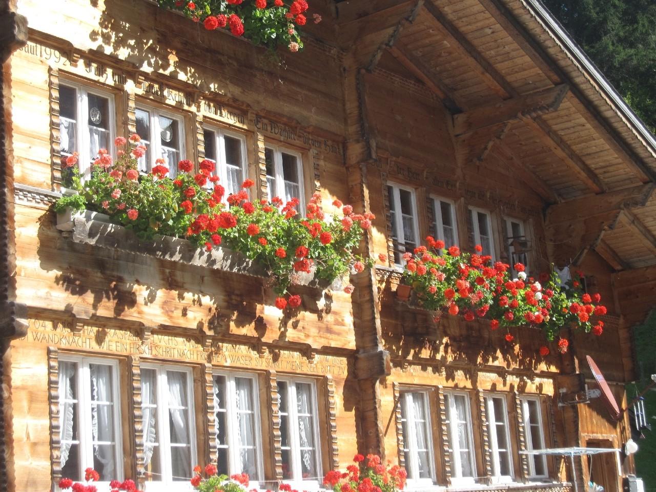 Fassade im Hofstatt