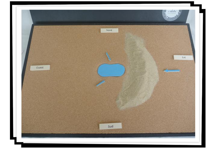 Bloc diagramme localisation et formation des lagunes.