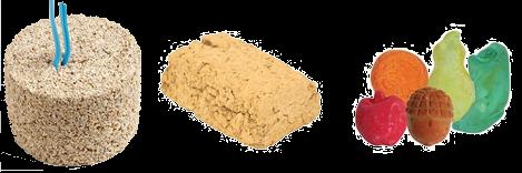 Bloc minéraux pour perruches