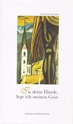 Buchcover - In deine Hände, lege ich meinen Geist