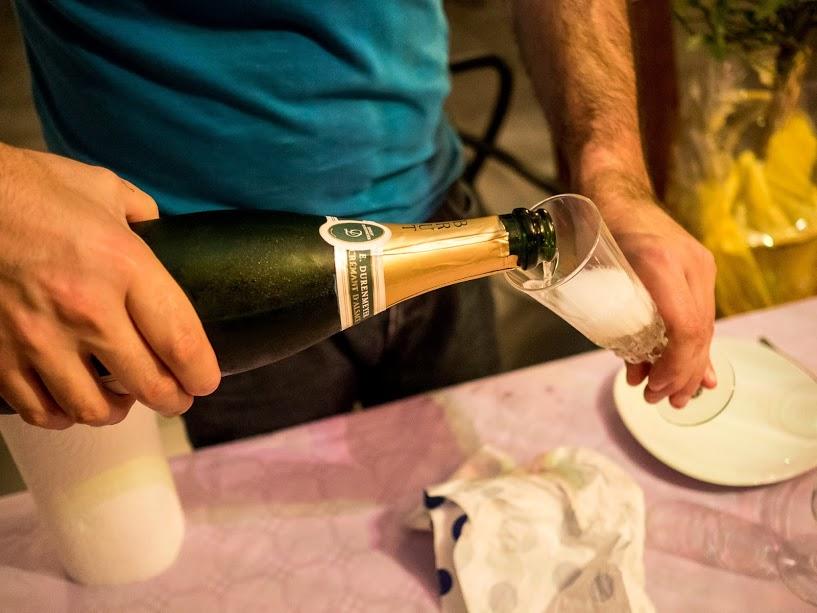Une petite coupe de Champagne...
