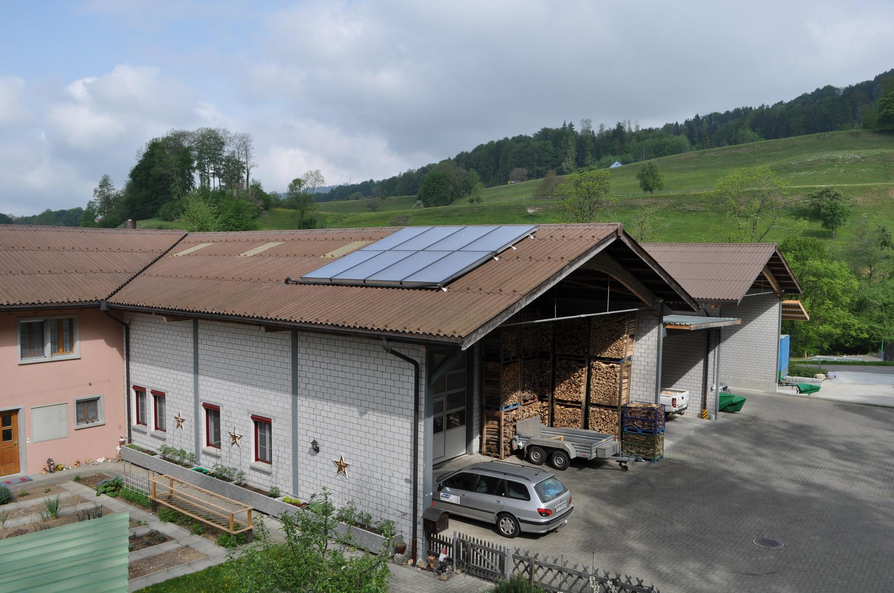 Wytor AG, Laupen mit Büro und Lagerhallen