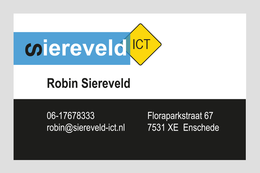 2014 - Siereveld ICT visitekaartje