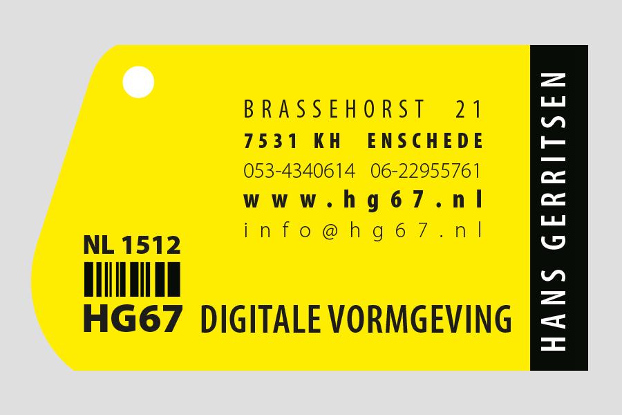 2006 - HG67 visitekaartje