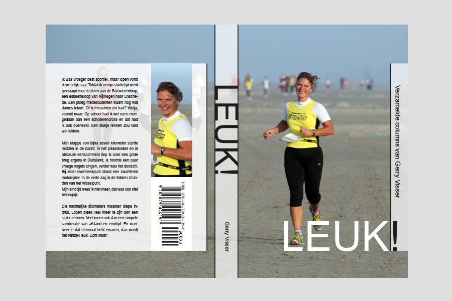 2008 - Omslag ontwerp boekje Leuk van Gerry Visser!