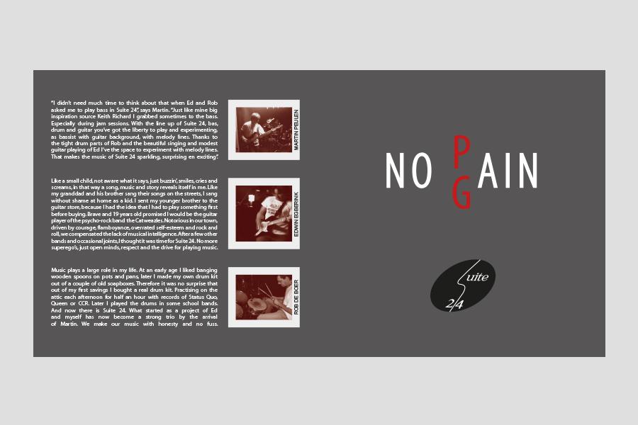 2007 - CD hoes ontwerp Suite 24 (No Pain No Gain)